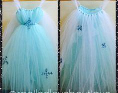 Frozen Elsa Tutu Dress