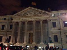 Congreso de los Diputados, Madrid.