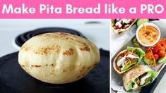 How to make Pita Bread at home like a PRO (without oven) - YouTube