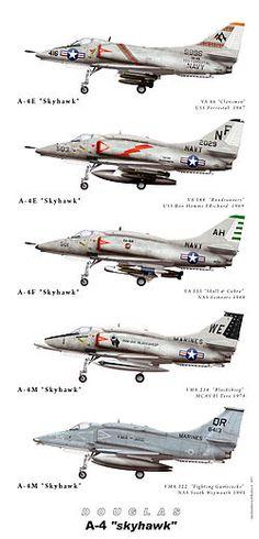 MODELOS DE A-4Q Skyhawk