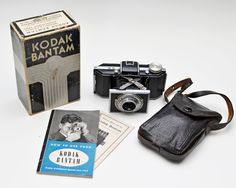 Vintage Kodak Bantam Camera with Special F/4.5 Anastigmat Lens Includes Original Box and Manual by ValueBliss on Etsy