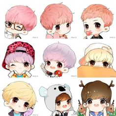 LuHan #EXO fanart (credit to the owner, see logo on pict)