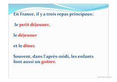 Imagini pentru les repas en france Le Diner, Personal Care, France, Morning Breakfast, Meal, Self Care, Personal Hygiene, French
