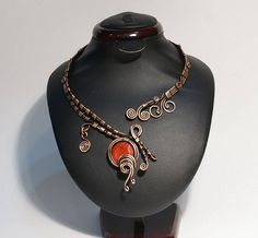 Coral Necklace and coral armlet