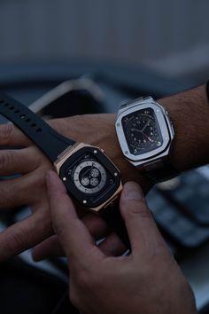 Watch Case, Watch 2, Swiss Luxury Watches, Diamond Settings, Stainless Steel Chain, Casio Watch, Timeless Fashion, Calf Leather, Apple Watch