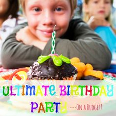Need to plan a birthday party on a budget? Here's how! www.pintsizedtreasures.com