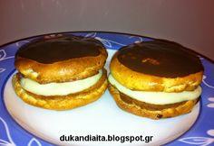 Όλα για τη δίαιτα Dukan: Γλυκά φάσης πλεύσης (β) Ducan Diet Recipes, Super Donut, Dukan Diet, Mac And Cheese, I Foods, Clean Eating, Cooking, Breakfast, Sweet