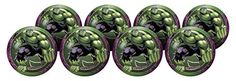 "Hedstrom Avengers Assemble-Hulk 6"" Playball Party Pack, P…"