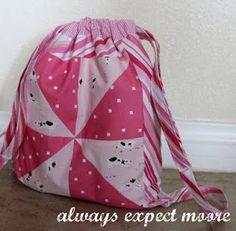 рюкзак для девочки, детский рюкзак своими руками