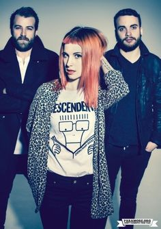 Paramore. Hayley wearing the Descendants