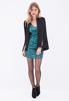 Sequin Bodycon Dress | Love21 - 2000082767 I do love this, but I also know how badly sequins can chaffe the underarm