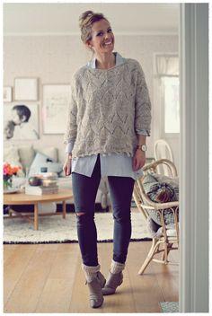 Me Naiset – Blogit | Kalastajan vaimo – DIY reikäneule Yarn Crafts, Knitting Projects, Baby Knitting, Knit Crochet, Sewing, Pattern, Diy, Clothes, Dresses