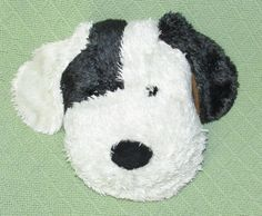 "2003 Computer Expressions CD DVD Case PUPPY DOG Holder 8 1/2""x6"" Plush Outer #ComputerExpressions"