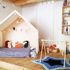 Baboo kids design - Lettino Montessor iLetti per bambini di ultima tendenza. Idee e consigli per una cameretta originale e creativa. Lasciati ispirare dalla nostra selezione di lettini.