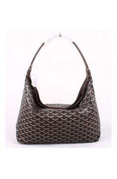 Goyard Fidji Hobo Bag Coffe