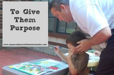 To Give Them Purpose :: Wondering WHY you are homeschooling? One important reason is to give your children a sense of purpose. :: So You Call Yourself a Homeschooler?