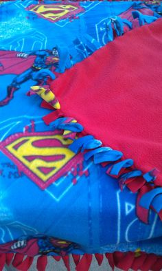Hey, I found this really awesome Etsy listing at http://www.etsy.com/listing/113962936/superman-blanket-throw