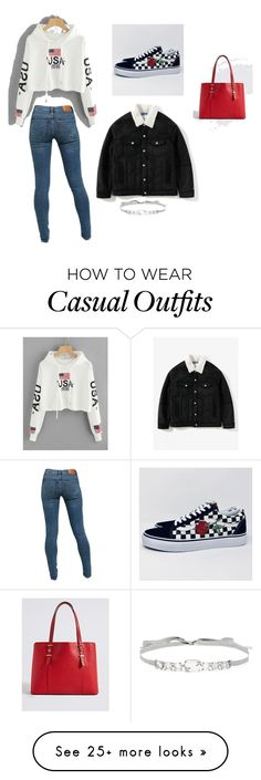 """casual"" by maya-rose08 on Polyvore featuring Levi's and Jenny Packham"