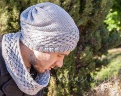 DIY: Treille snood et bonnet pour homme
