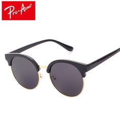 469b8b23cd Pro Acme Fashion Korean Brand Men Women Cat Eye Sunglasses Mirror lens  Summer Style Round Sun glasses Oculos De Sol CC0535-in Sunglasses from  Women s ...