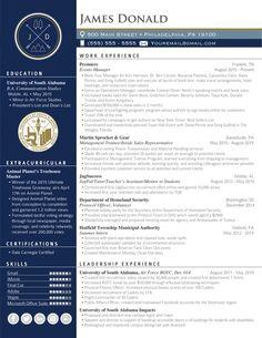 Creative & Professional Resume Design by elevatedresumes.com #risetothetop