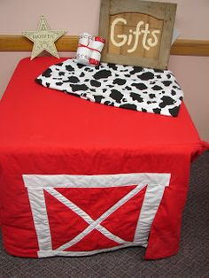 Home on the Range Exchange: Farm Theme Baby Shower