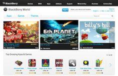 رسميا: BlackBerry world المسمى لمتجر البلاك بيري ~ spacetel net