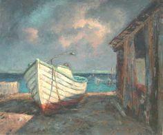 "Fishing Shack - by Albert Ernest ""Beanie"" Backus Landscape Paintings, Landscapes, Fishing Shack, Old Florida, Pablo Picasso, Biography, Beanie, Artist, Artwork"