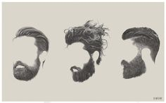 More ghostly beards, beards and beards. Published by Maan Ali