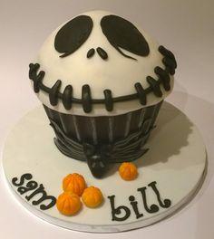 Jack Skellington Giant Cupcake - Nightmare Before Christmas