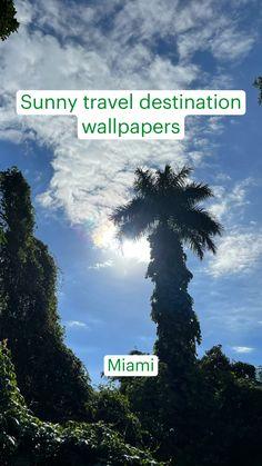 Sunny travel destination wallpapers