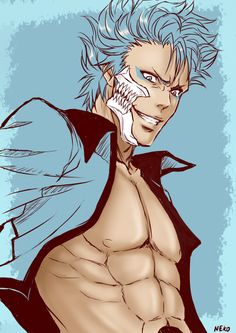 Skin-colored sketch #GRIMMJOW# by NEKO-2006.deviantart.com on @DeviantArt