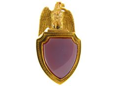 Victorian 18ct Gold Eagle Vinaigrette Locket from the Antique Jewellery Company, £1250