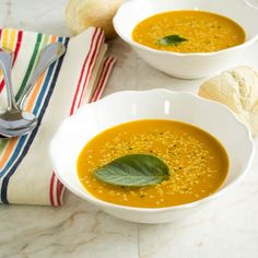 Spicy carrot amaranth soup