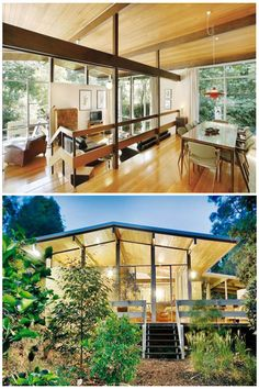 Various Modernist Homes via the brilliant Modernist Australia blog .  This one in Brighton is currently for sale - details here . Kew home -...