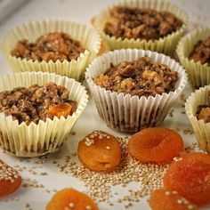 Quinoa apricot muffins ♥ #heathylifestyle #happy