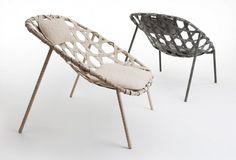 Viewing Benjamin Hubert 671 Coracle Lounge Chair Product