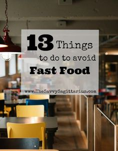 Fast food is the hardest part of almost every budget. It is usually where I go over every month. Most of that is due to poor planning. Here are 13 Things that I do that make it easier to say no to fast food! Ways To Save Money, How To Make Money, Living A Healthy Life, Frugal Tips, Sagittarius, Business Tips, Saving Money, Budgeting, Things To Do