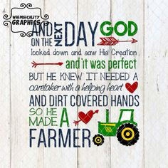 Digital File - Farmer with SVG, DXF, PNG Commercial & Personal Use