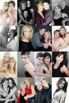 Strike a Pose! Mother and grown daughters—sue bryce posing guide – lots of good posing examples / ideas Family Posing, Family Portraits, Family Photos, Beauty Portrait, Portrait Poses, Group Photography, Portrait Photography, Mother Daughter Poses, Foto Fun