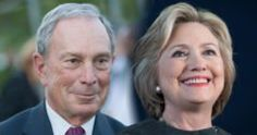 Clinton Bloomberg Former Mayor of New York City, Mike Bloomberg, will endorse the Democratic Nominee, Hillary Clinton