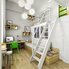 20 Grandes ideias para quartos e salas de crianças