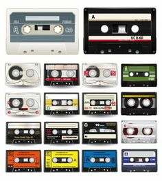 Audio Cassettes Vector Collection free download!!