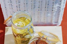 LEBANESE RECIPES: Zucchini & Mustard Pickles Recipe