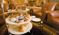 Emirates Palace, Abu Dhabi. Amazing place for afternoon tea, especially if you like real gold leaf on your coffee and cakes!