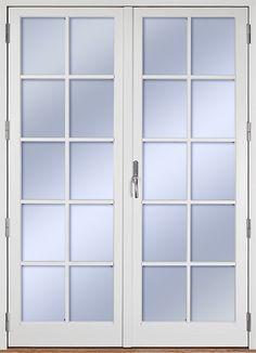 Ekstrands utåtgående parfönsterdörr Sverige104, Tillval: Spröjs SP4:1.  #Ekstrands #fönsterdörr #altandörr #fönster #dörr #isoleradfyllning #spröjs Patio Doors, Diy And Crafts, Master Bedroom, Furniture Design, Windows, Home Decor, Houses, Interiors, Cooking