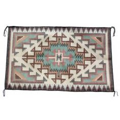 Maire  Yazzie, New Lands Raised Outline Rug, 48.5 in x 29.5 in