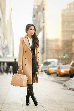 Outfit Inspiration: The Camel Coat