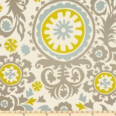 chartreuse robins egg blue and grey fabric - Google Search