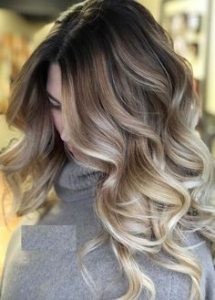 Searching for best hair color shades and contrasts? See here we have made a collection of best balayage ombre hair colors and hairstyles in year Use to wear these amazing styles of balayage colors right now. Dark Blonde Hair Color, Hair Color Shades, Balayage Hair Blonde, Ombre Hair Color, Cool Hair Color, Dark Hair, Dark To Light Hair, Darker Blonde, Balayage Color